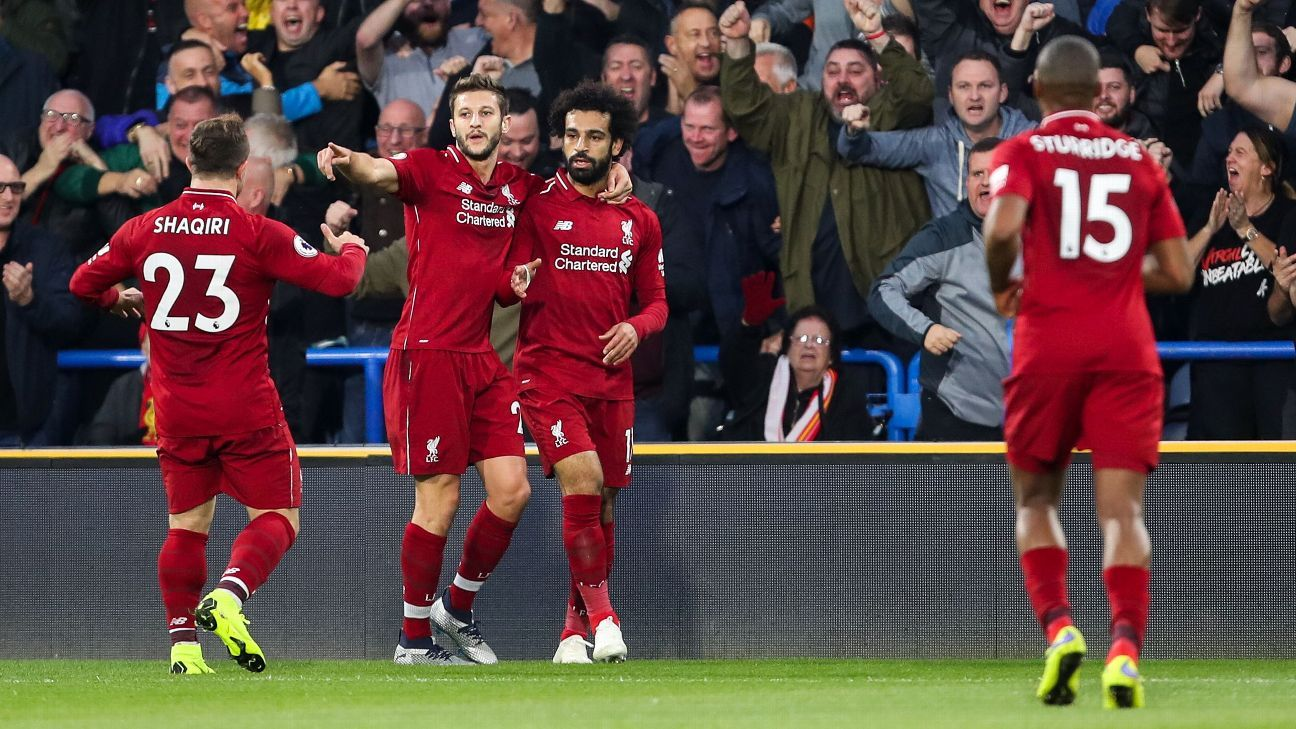 Mohamed Salah's goal moved Liverpool back to within goal difference of Man City.