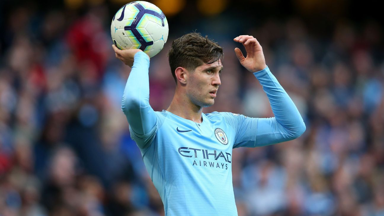 John Stones covered Kyle Walker's role in the win over Burnley.