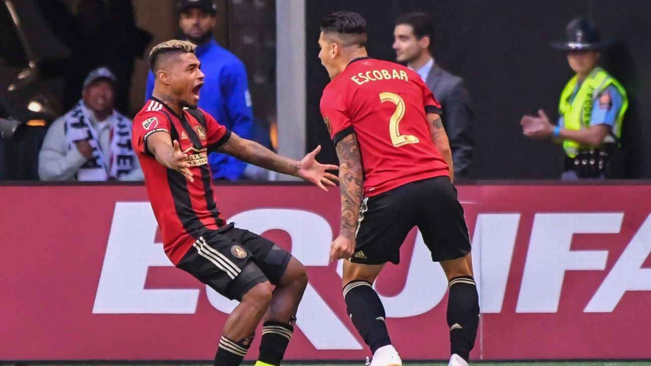 Atlanta United beat Chicago Fire to secure CONCACAF Champions League spot