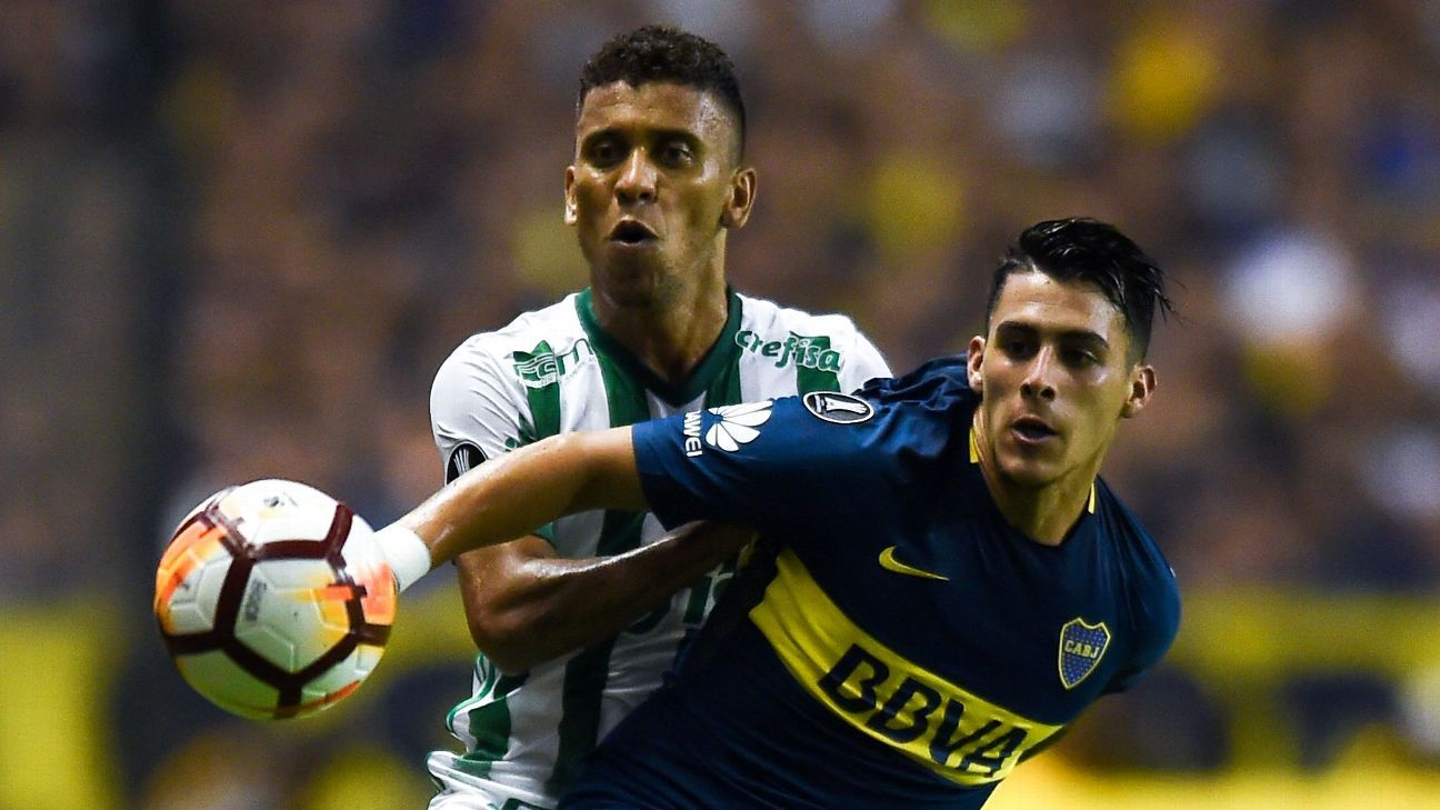 Palmeiras will take on Boca Juniors in one of two titanic battles in this year's Copa Libertadores semis.