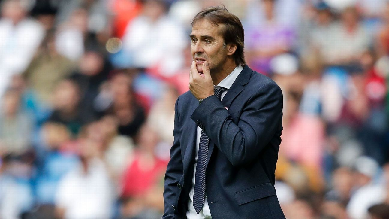 Ex-Real Madrid boss Julen Lopetegui not a candidate for Mexico job - sources