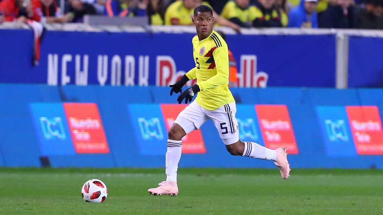 Wilmar Barrios has been a Colombia international since 2016.