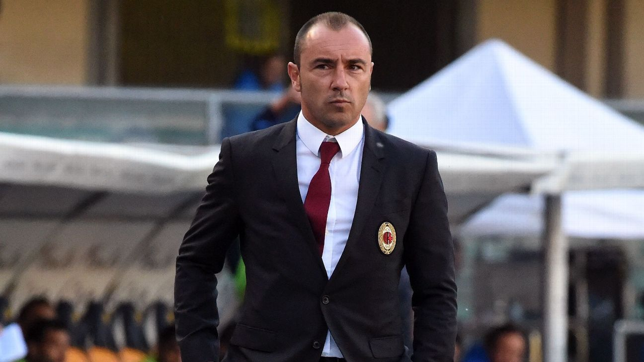 Ex-AC Milan boss Cristian Brocchi appointed manager of Monza