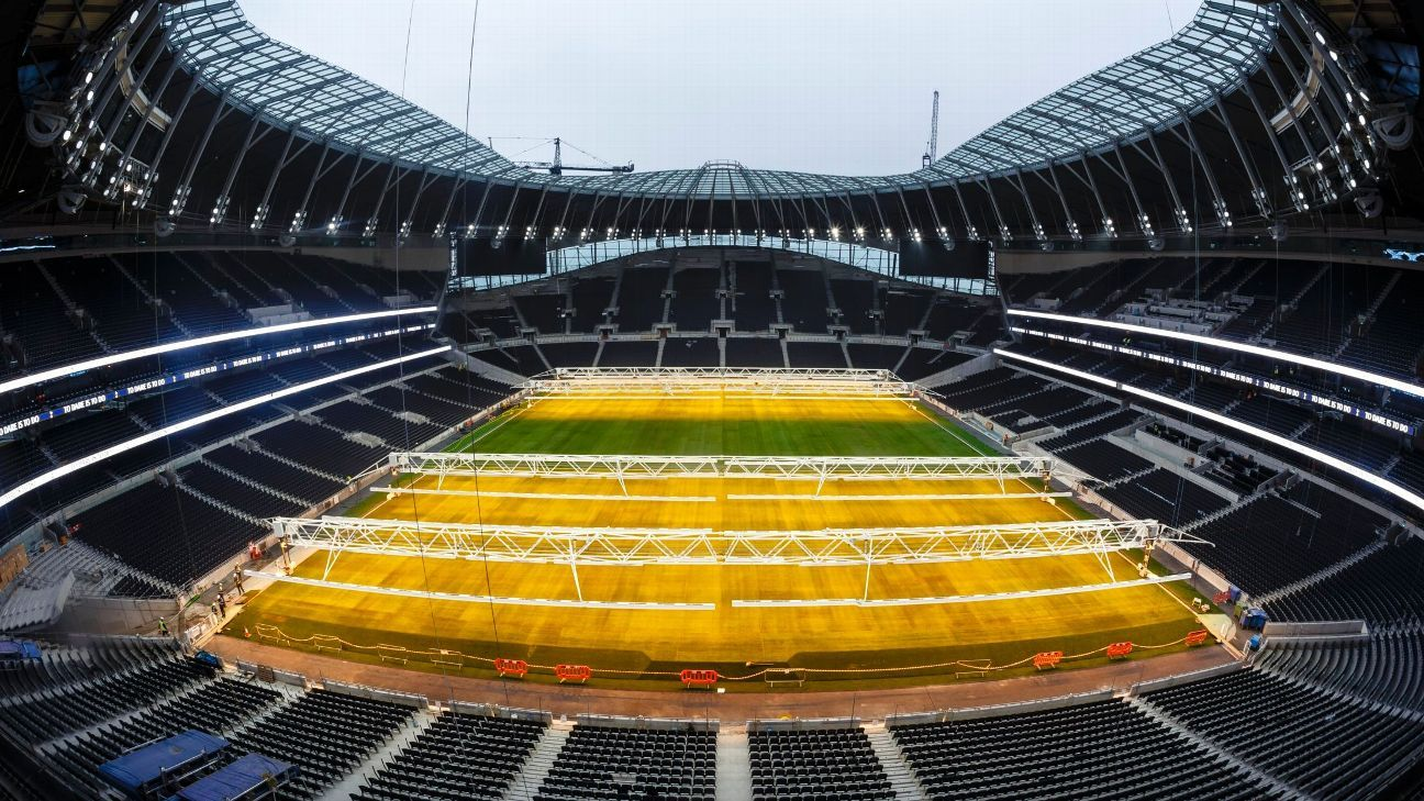 Tottenham Hotspur Stadium is yet to open.