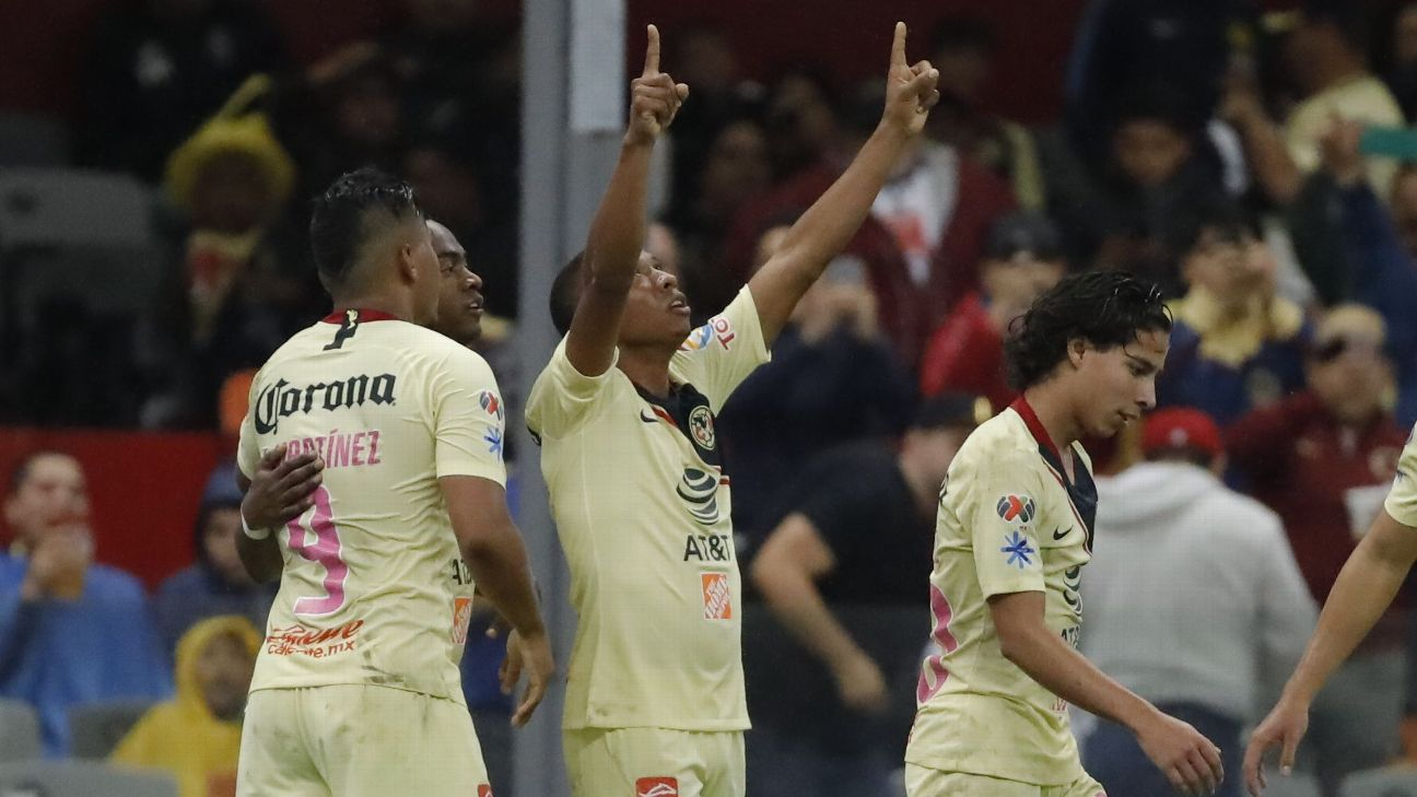Andres Ibarguen and Club America are at the top of Liga MX table with one month left to go before the start of the playoffs.