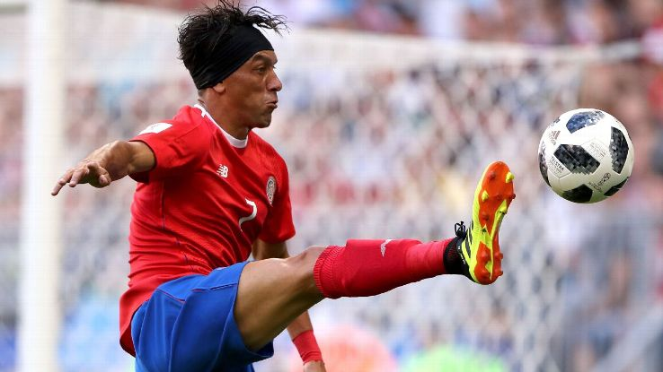 Johnny Acosta starred for Costa Rica in the 2018 FIFA World Cup, he will now look to take East Bengal to glory in the I-league.