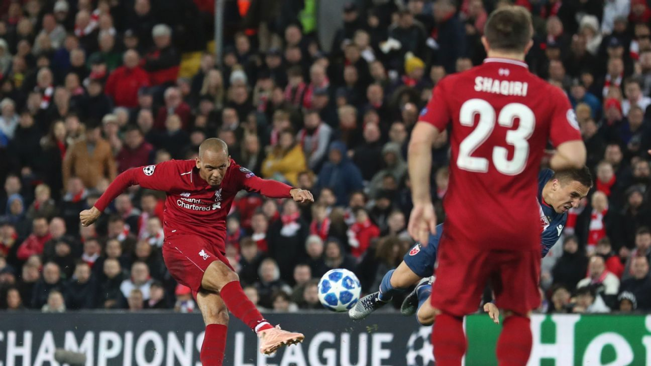 Fabinho's performance against Red Star Belgrade showed glimpses of his ability to handle the many responsibilities for his position under Jurgen Klopp's system.