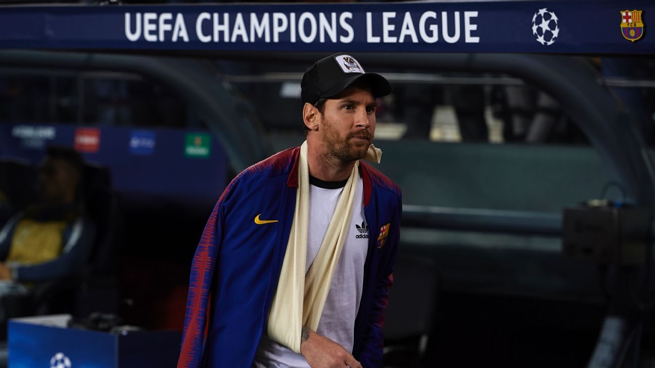 Lionel Messi's injury weakens Barcelona but on Wednesday they showed they are no longer helpless without him.