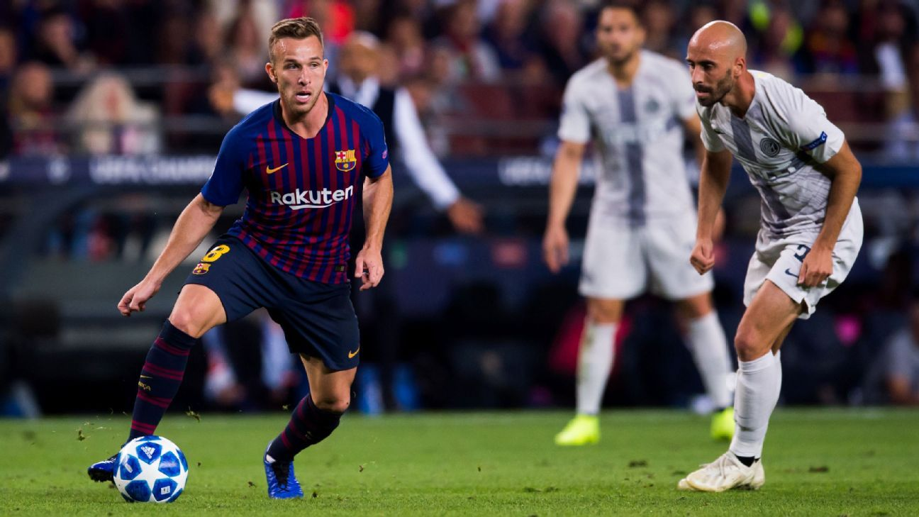 New boy Arthur gives Ernesto Valverde a luxury he didn't have last season when Lionel Messi was out.