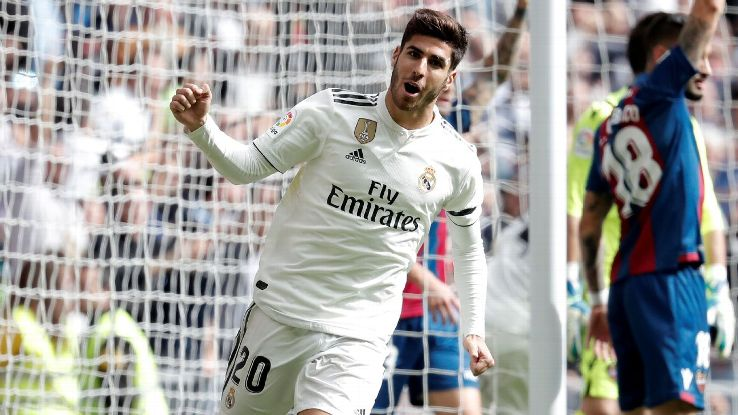 Marco Asensio, so often a potent threat last season, could also be a key figure on Sunday depending on where he plays.