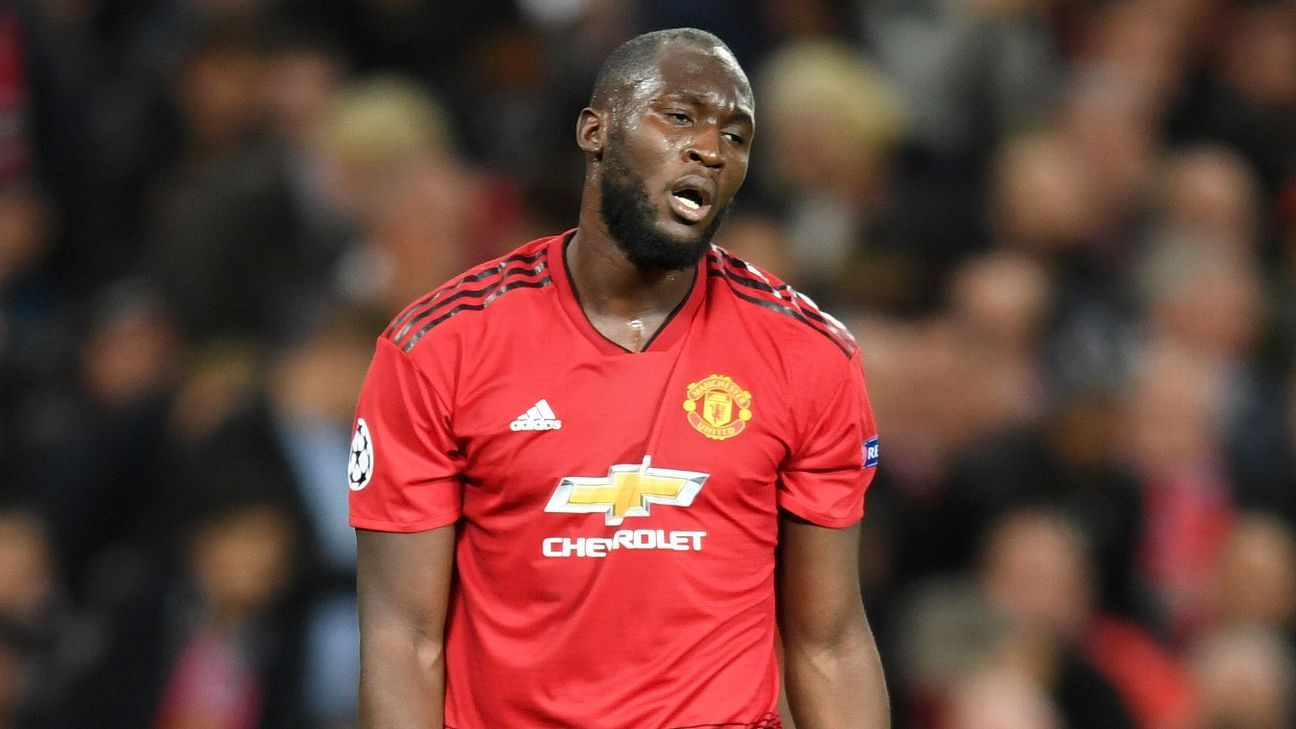 Romelu Lukaku has not scored a goal for Manchester United since September.