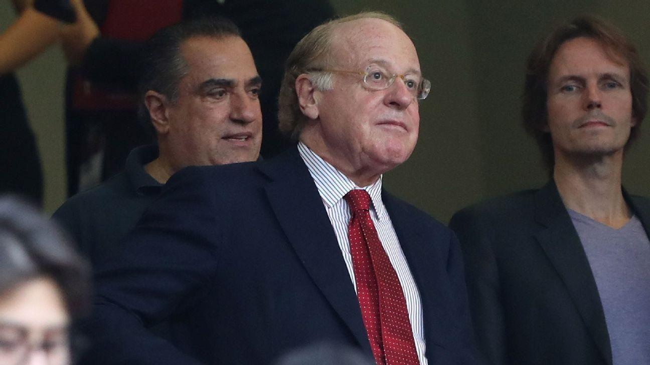 AC Milan president Paolo Scaroni