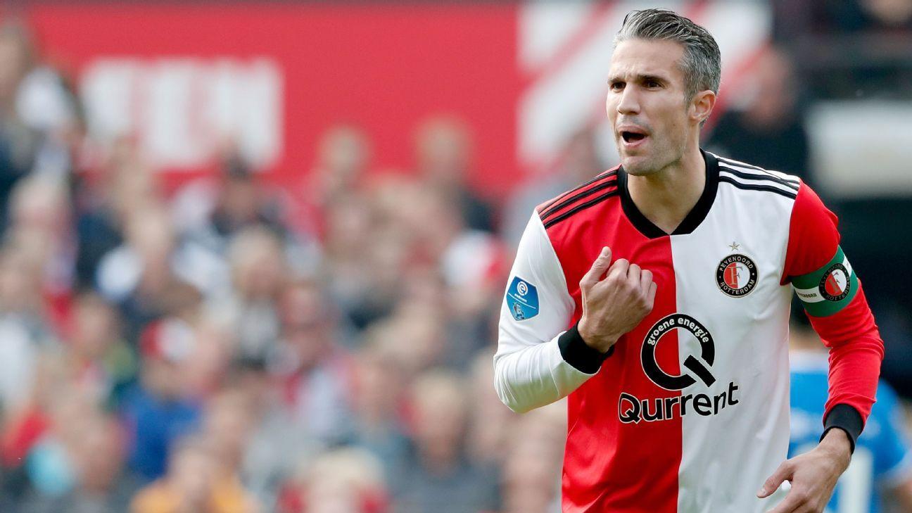 Feyenoord forward Robin van Persie will retire from football at the end of the season