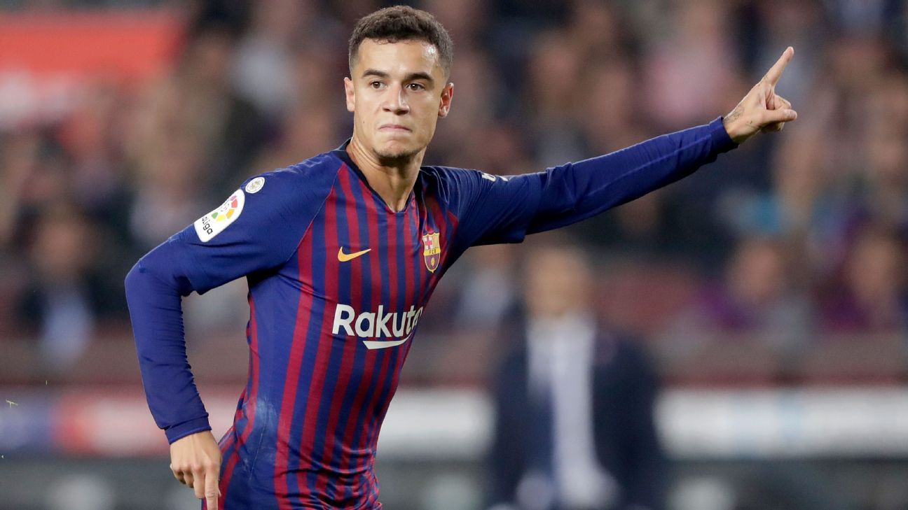 Philippe Coutinho, acquired for $150 million last January from Liverpool, is the playmaker but because he and Messi sometimes gravitate into the same areas and because he's versatile and unselfish, he hasn't been the driving force his talent warrants.