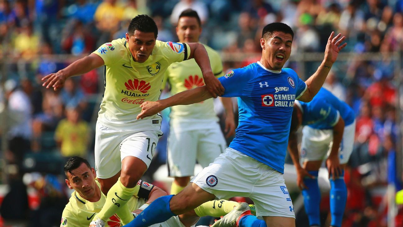 The players change but there is never any love lost when Mexico City rivals Club America and Cruz Azul clash.