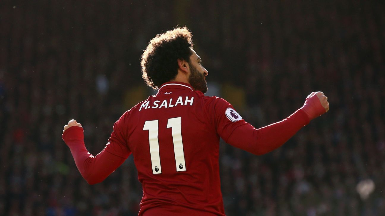 Mohamed Salah continued his fine form by scoring in Liverpool's win over Cardiff.