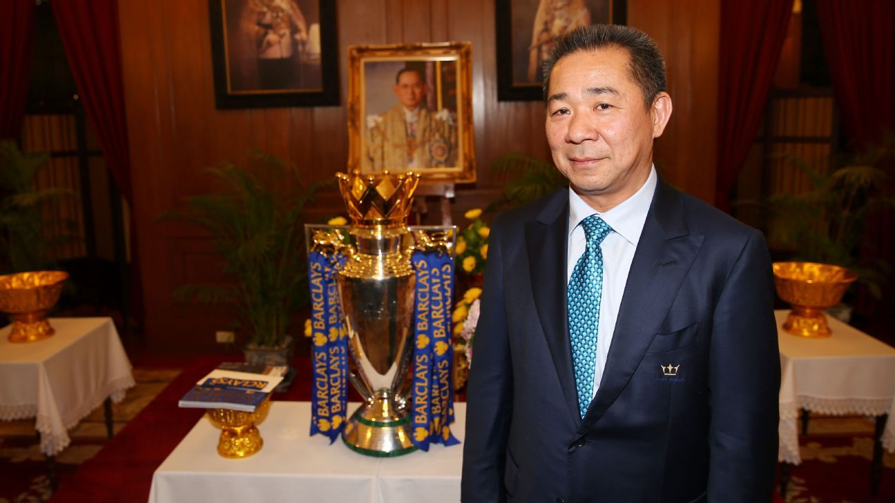 Vichai Srivaddhanaprabha bought Leicester in 2010.