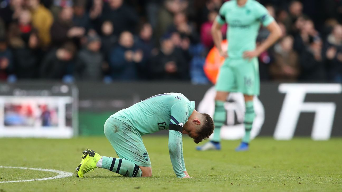 Arsenal were punished for two silly mistakes against Crystal Palace in a 2-2 draw.