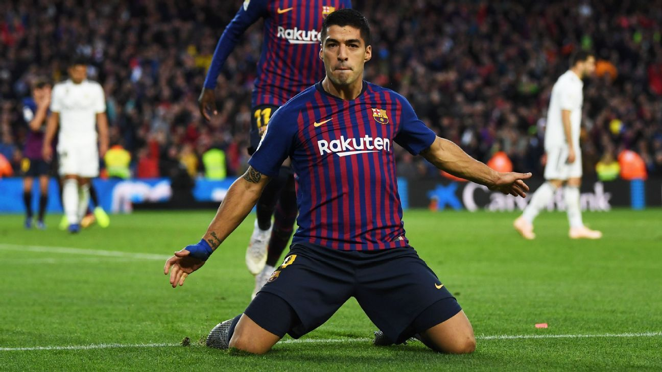 Luis Suarez was central to Barcelona's dominant display against Real Madrid.