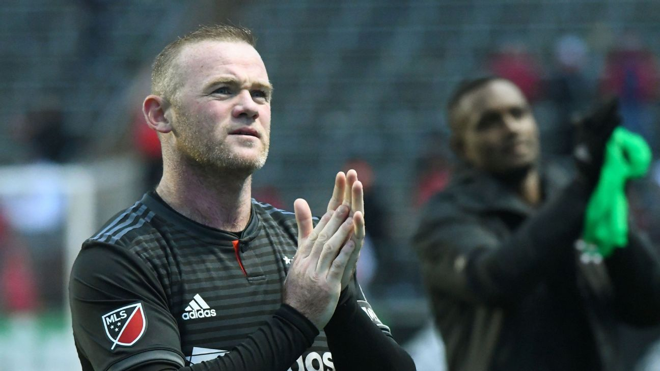 Wayne Rooney and D.C. United completed a dramatic midseason turnaround by clinching a home playoff game on the final day of the season.