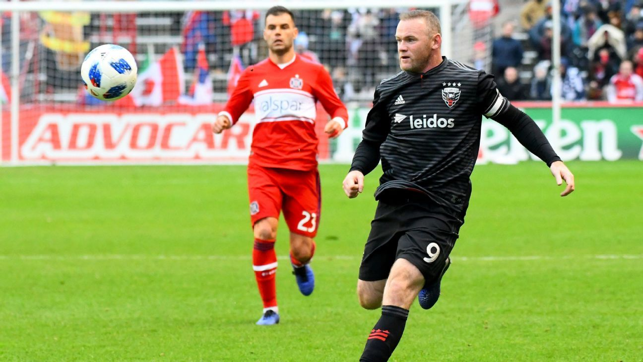 Wayne Rooney, D.C. United earn home playoff match after draw