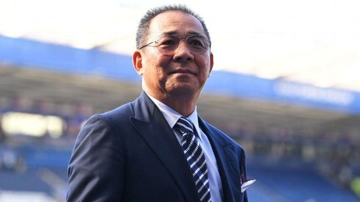 Leicester owner Vichai Srivaddhanaprabha