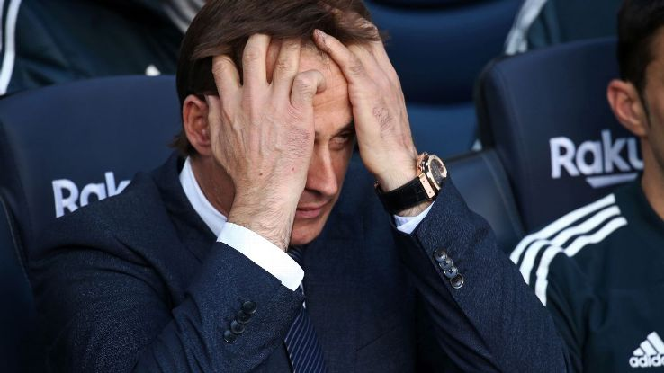 Lopetegui's fate at Real never hinged on a single result so Sunday's heavy defeat to Barcelona probably isn't why he is set for the exit.