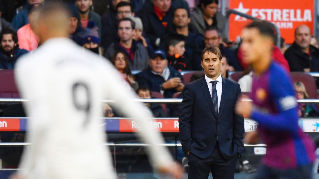 Julen Lopetegui's failure to stick at Real Madrid was down to his misjudgment of the job and of his power at this most unique club.