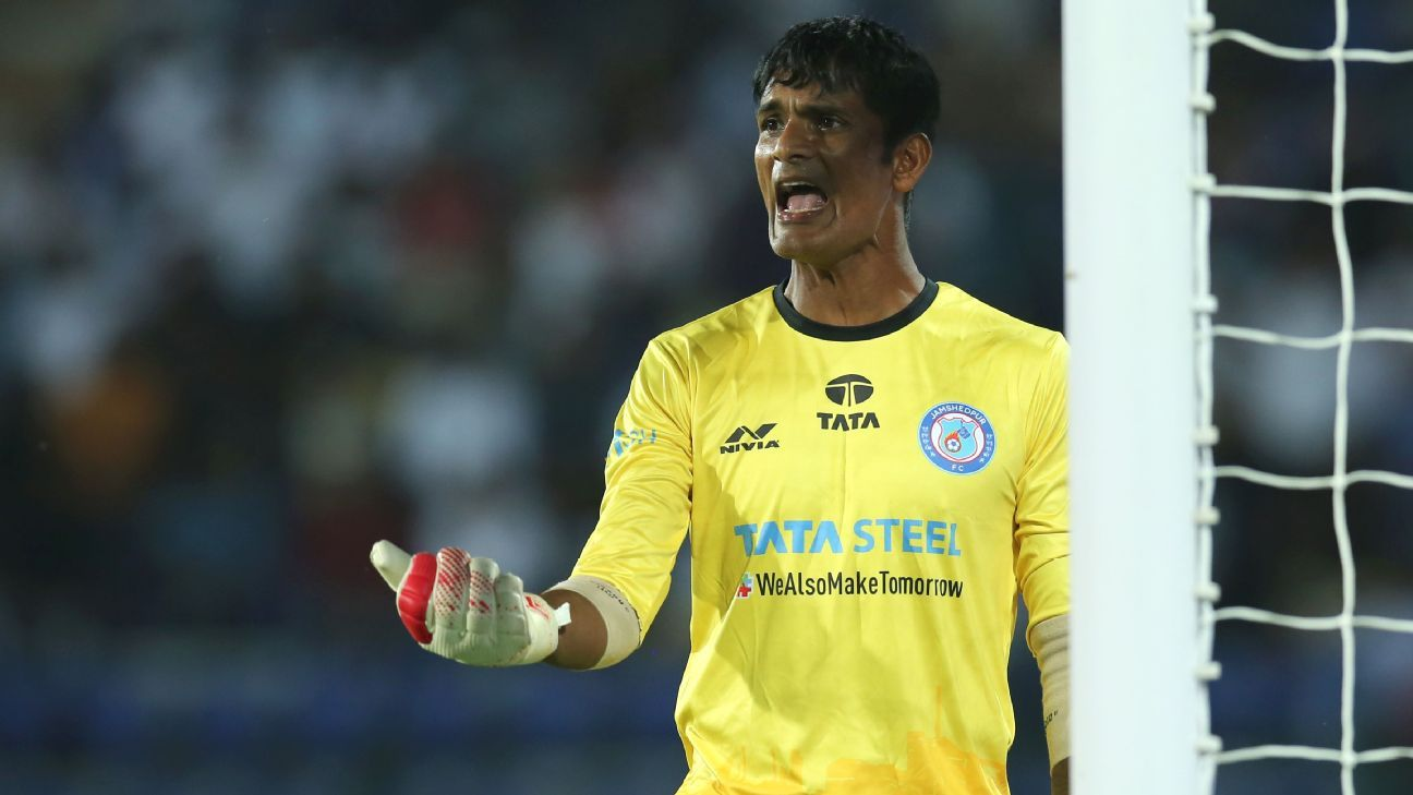 Subrata Paul has been excellent for Jamshedpur this season.