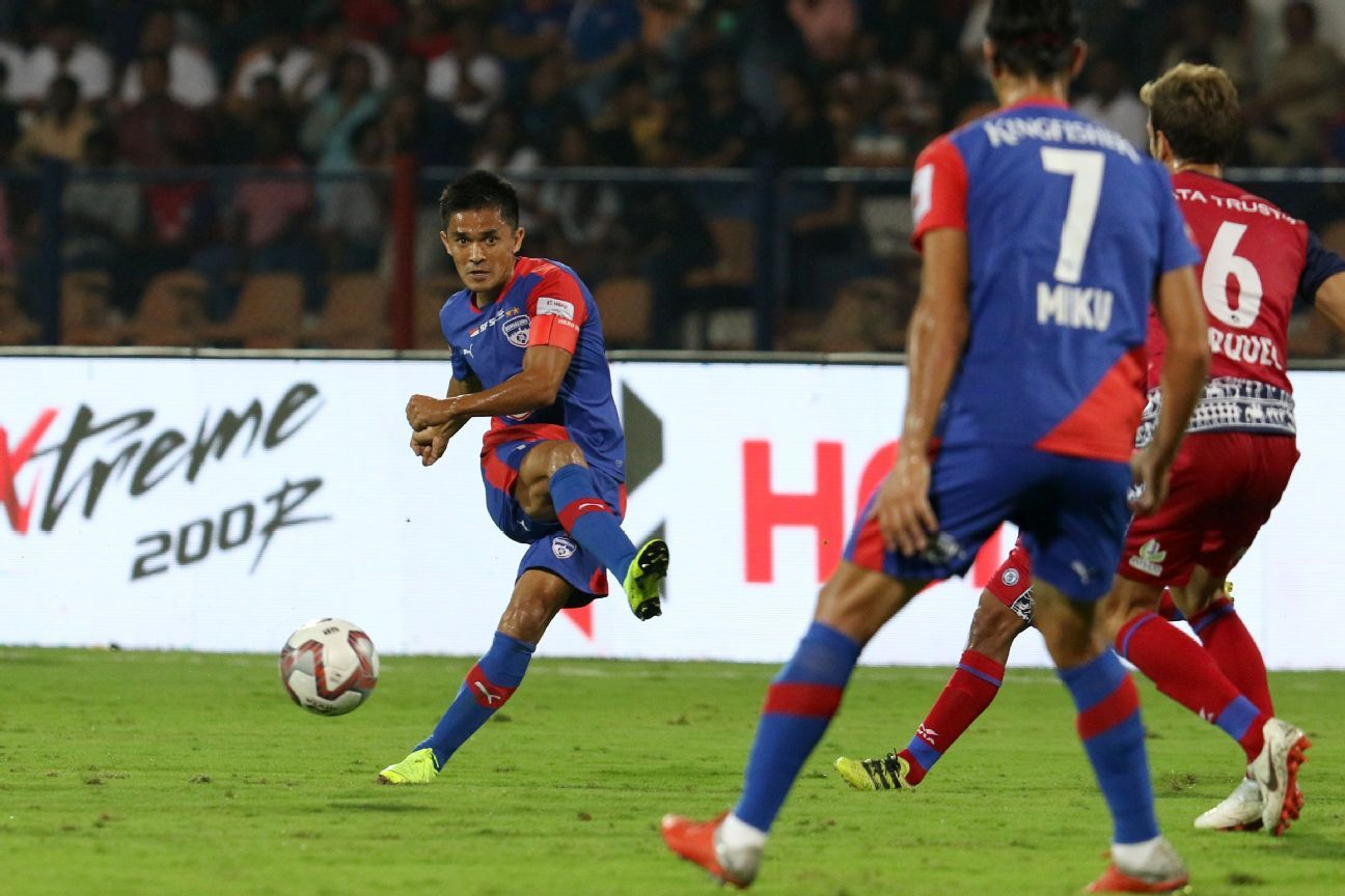 The 34-year-old Sunil Chhetri only seems to be getting better.