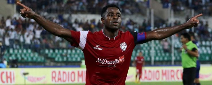 Bartholomew Ogbeche has scored five of NorthEast United's eight goals.