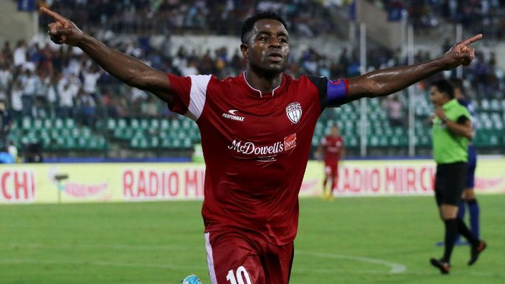 Bart Ogbeche's goalscoring has turned NorthEast United into a more threatening outfit this season.