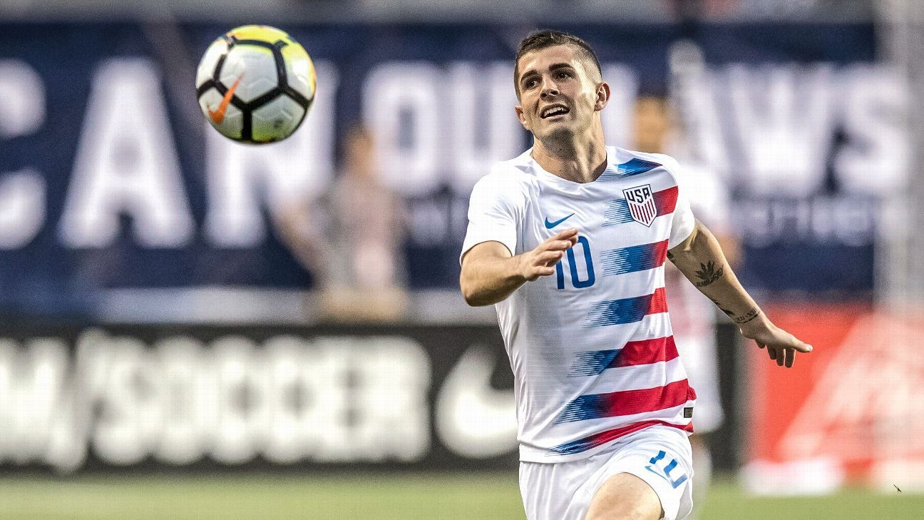 United States midfielder Christian Pulisic