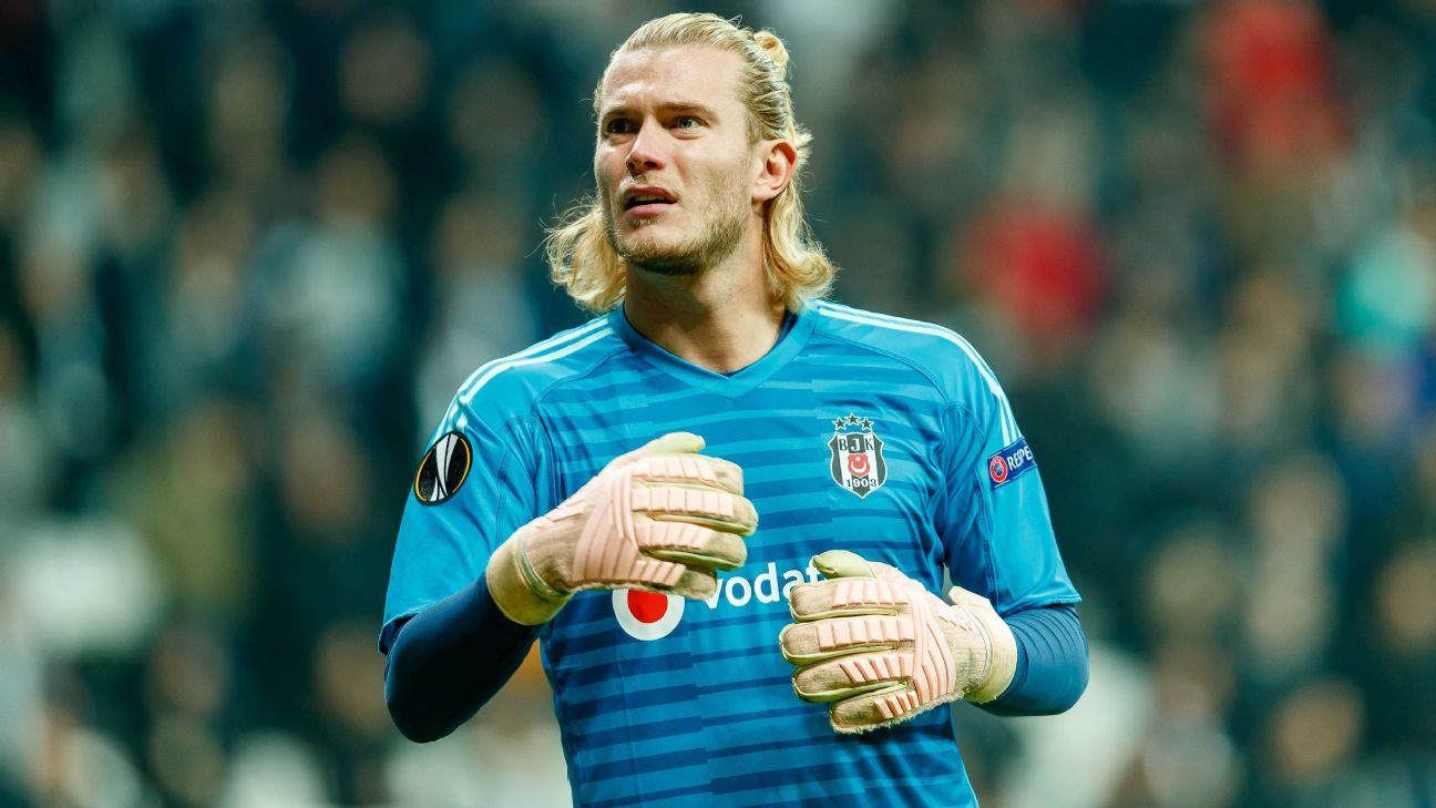 Besiktas goalkeeper Loris Karius