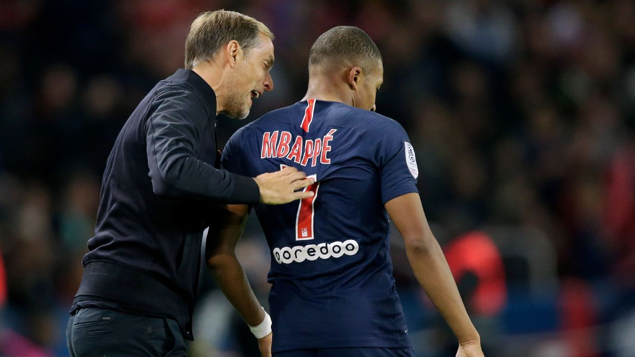 Tuchel has disciplined Mbappe several times this season for being late or disrespecting the rules.