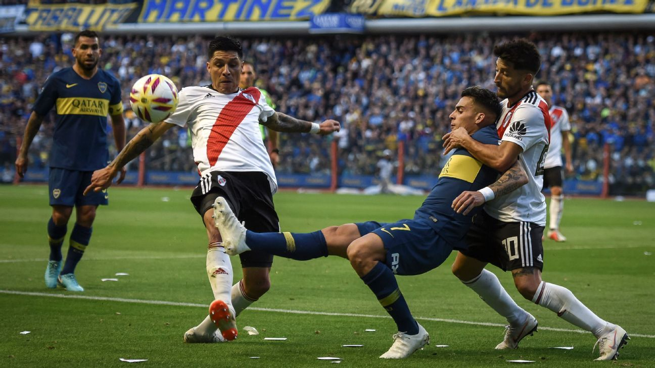 Animus between Boca Juniors and River Plate goes back decades and carries a good deal of symbolism.