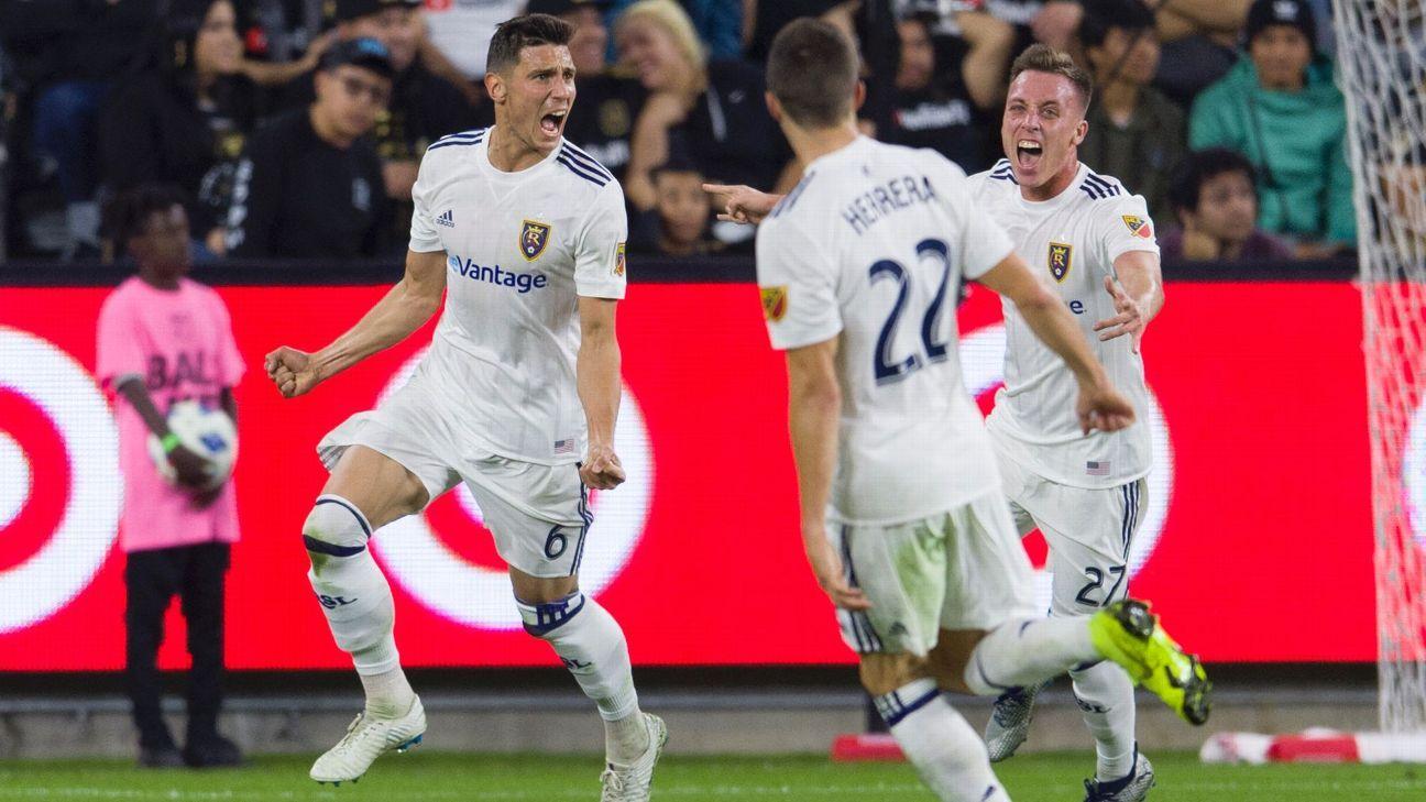 Damir Kreilach helps Salt Lake shock LAFC, advance to West semifinals