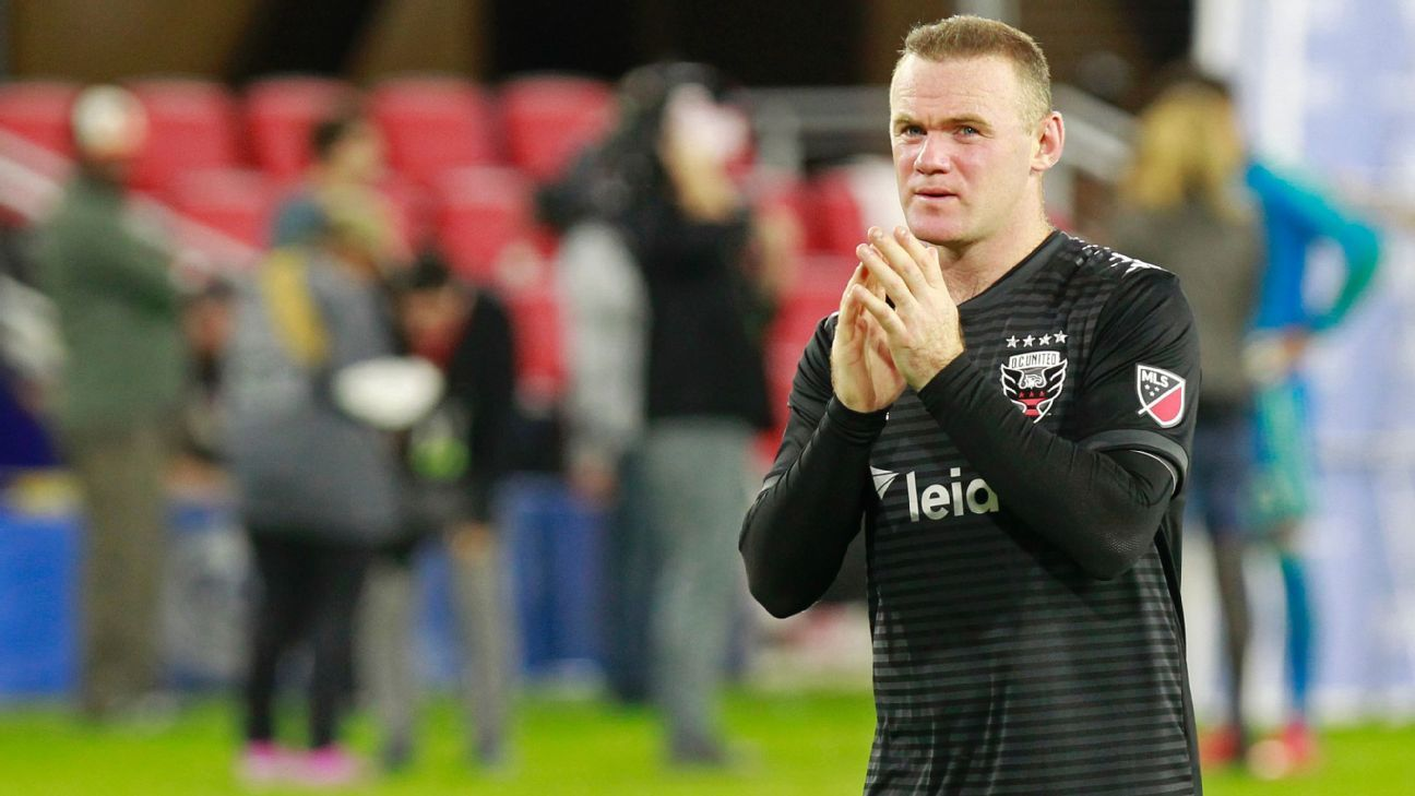 Wayne Rooney had an amazing debut season in MLS but it was one and done in the playoffs for he and D.C. United.