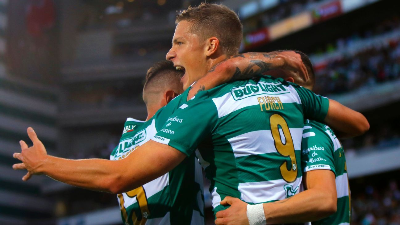 Julio Furch has Santos eyeing a repeat Liga MX title despite the club losing key players over the summer.