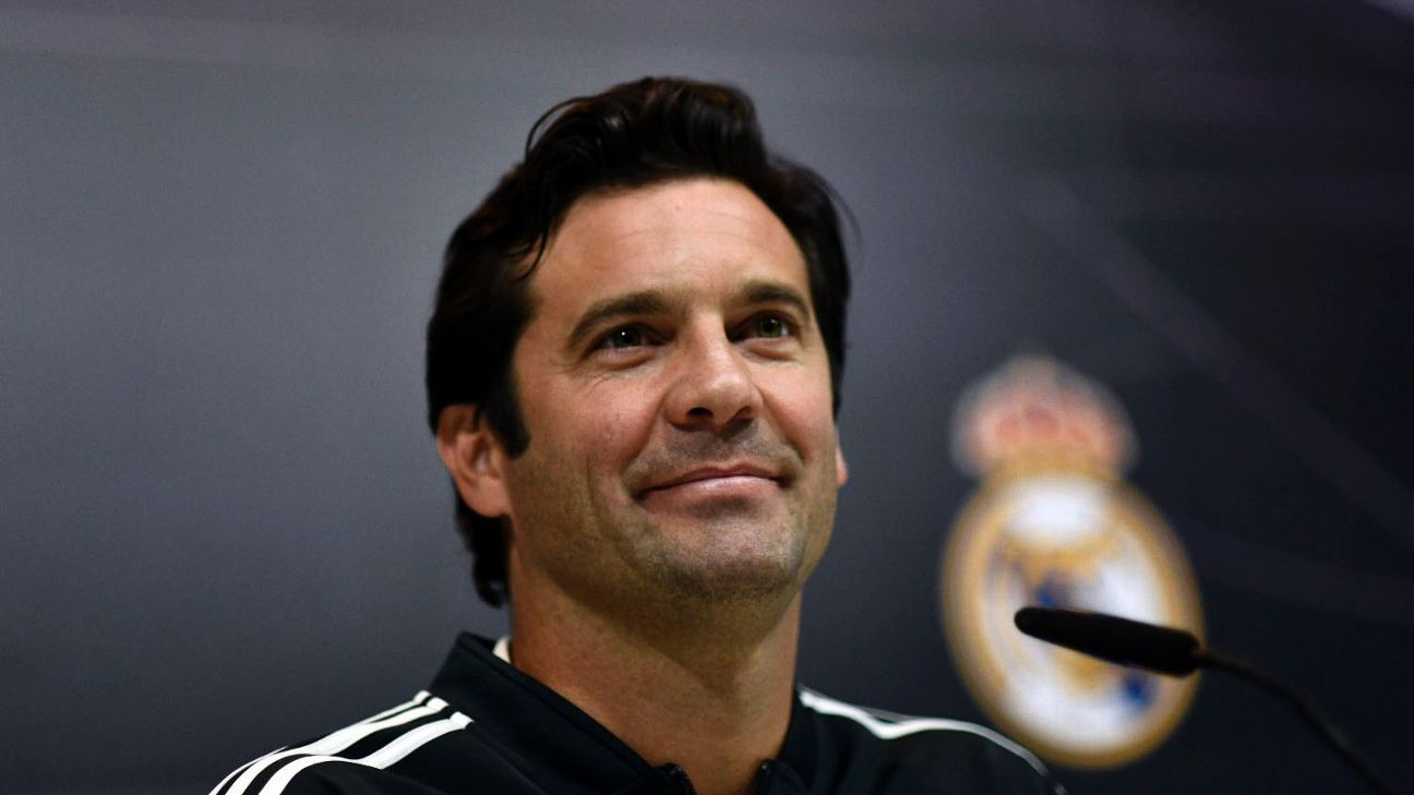Santiago Solari has never managed a first team before but isn't shying away from the challenge of being manager at Real Madrid.