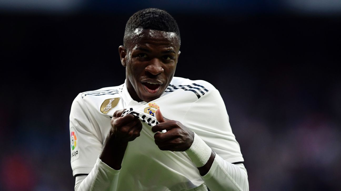 Real Madrid's Vinicius Jr came off the bench to help break the deadlock against Valladolid