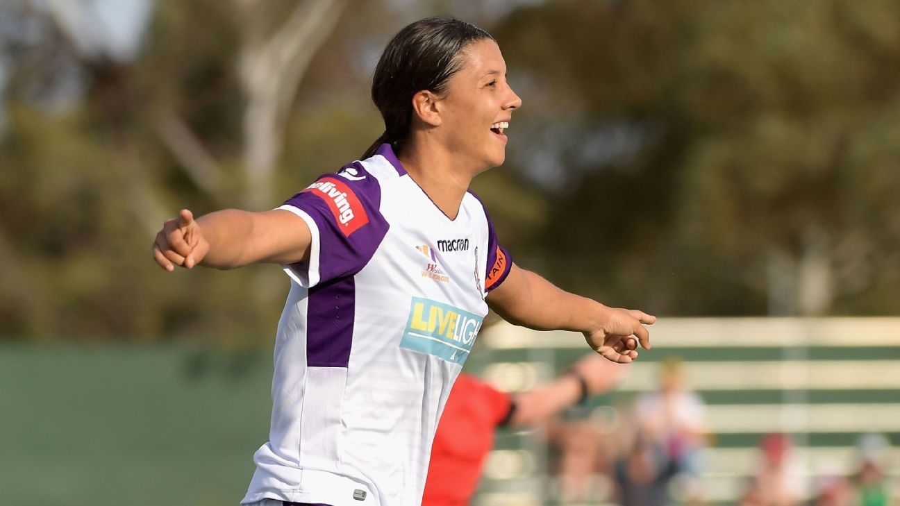 Perth's Sam Kerr is the W-League's first marquee player