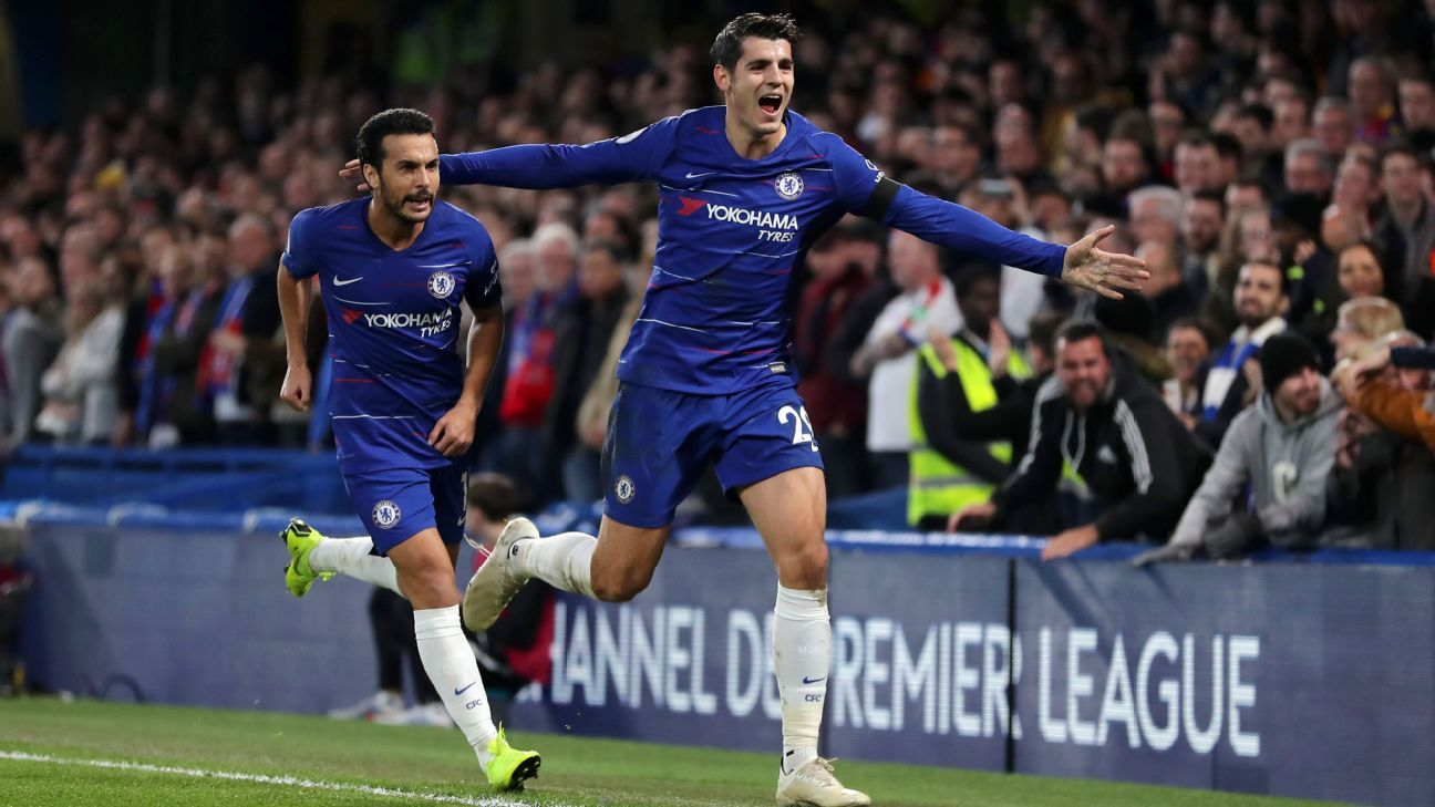 Alvaro Morata maintained his good run of form with a two-goal display vs. Crystal Palace.