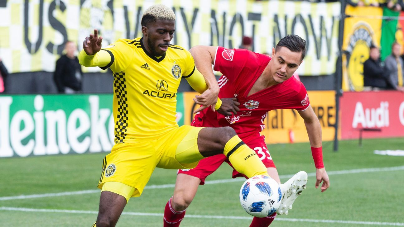 Gysai Zardes scores to give Crew win over Red Rulls