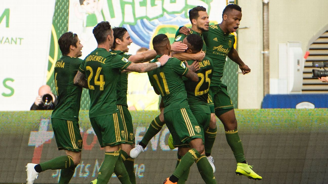 Timbers beat Sounders with goals from Jeremy Ebobisse, Sebastian Blanco