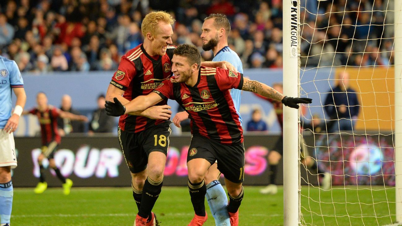 Eric Remedi's first MLS goal puts Atlanta United in driver's seat vs. New York City FC