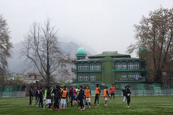 Real Kashmir will take on Churchill Brothers in Srinagar, now the I-League's highest venue.