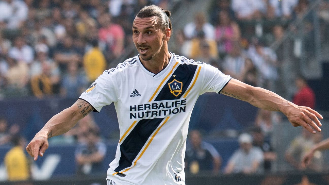 LA Galaxy forward Zlatan Ibrahimovic