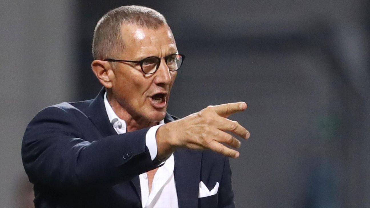 Empoli coach Aurelio Andreazzoli was sacked on his birthday.