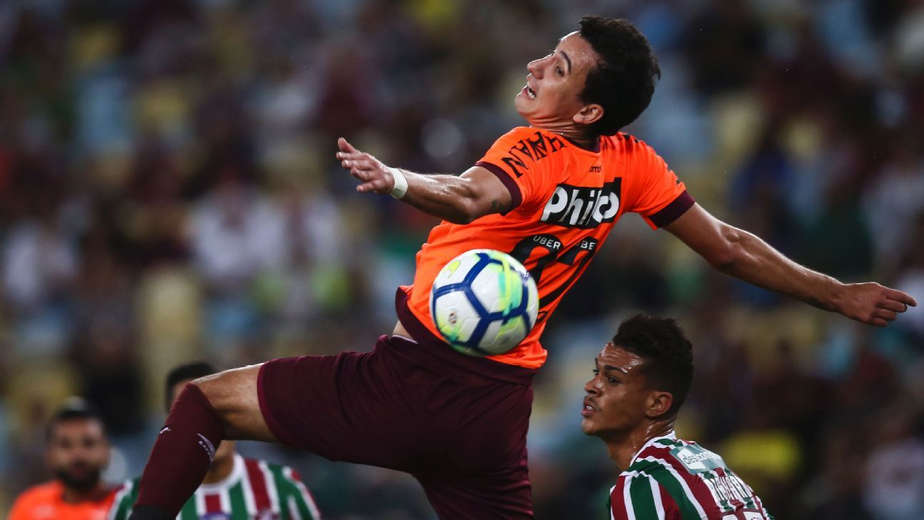Brazilian teams Atletico Paranaense and Fluminense vie for a spot in the Copa Sudamericana final.